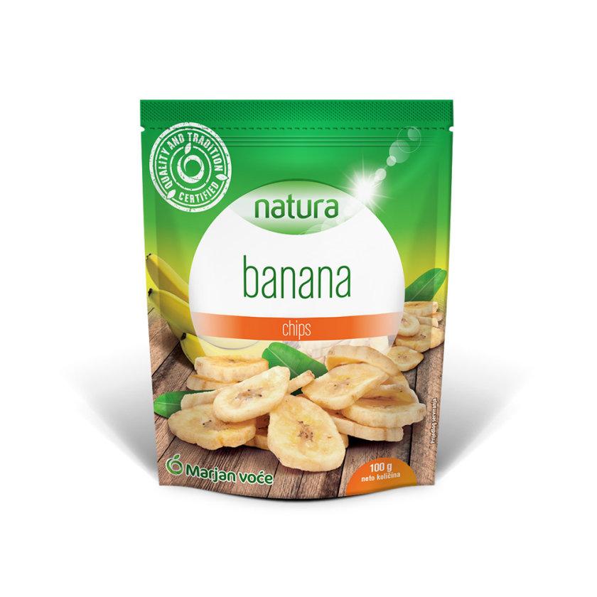 Kandirane kriške banane