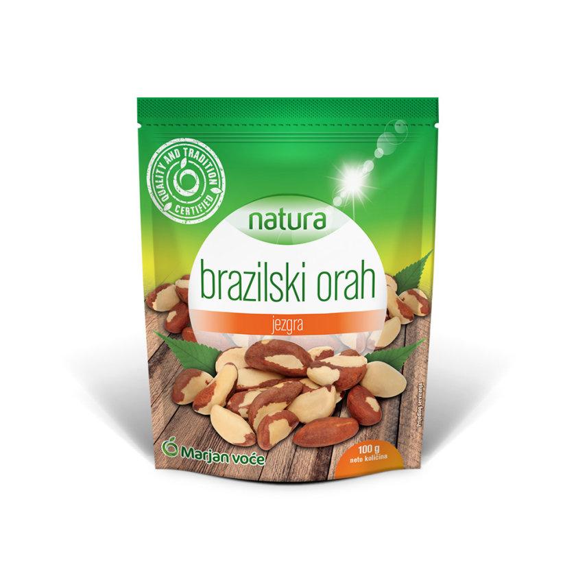 Brazilski orah, oljušten