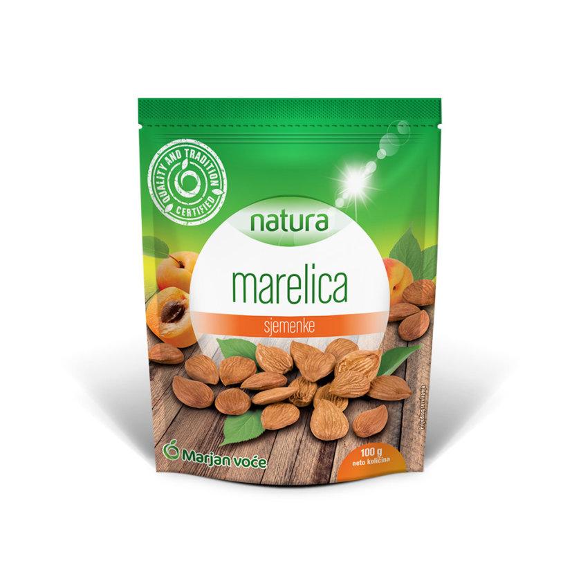 Jezgra sjemenke marelice, sušena